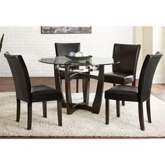 Sudoku Contemporary Gathering Set Table4 Counter Chairsdining Glamorous Dining Room Sets Online Inspiration