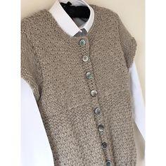 Knit Vest Pattern, Sweater Knitting Patterns, Knit Sweaters, Free Knitting Patterns For Women, Knitting Ideas, 3 Needle Bind Off, Willow Pattern, Quick Knits, Yarn Brands