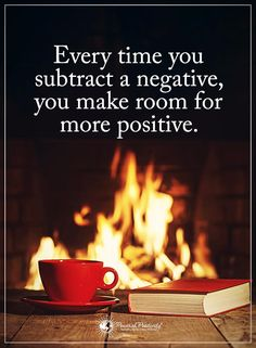 Every time you subtract a negative, you make room for more positive. Positive Words, Positive Quotes, Best Boss Quotes, Wisdom Quotes, Life Quotes, Good Boss, Great Inspirational Quotes, Power Of Positivity, Quotes For Students