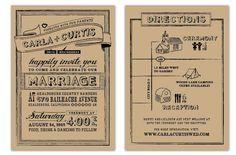 kraft paper invitations - Buscar con Google