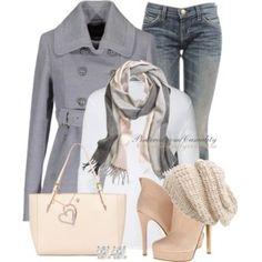 Comfy Casual Grey & Pink