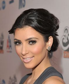 Kim's makeup is always perfection.
