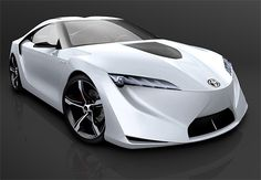 Toyota Hybrid coupe FT-HS concept