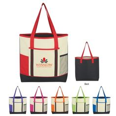 #3190 Berkshire Tote Bag cute and colorful tote bag. 17x14x3