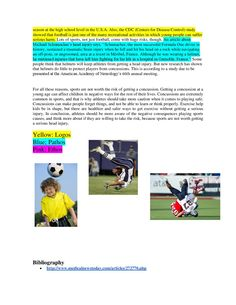 sports related injuries essay