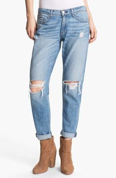 rag & bone/JEAN Boyfriend Jeans available at #Nordstrom