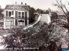 Alphen aan den Rijn: De 's Molenaarsbrug in de jaren 50