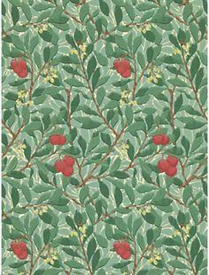 Morris & Co Arbutus Wallpaper on shopstyle.com.au