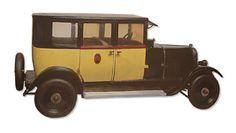 Jouet Citroen Taxi B14