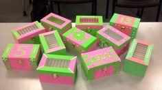 AKA crafts (keepsake boxes)