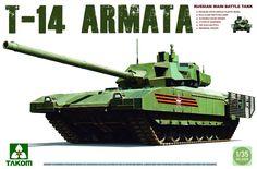 TAKOM 1/35 Russian Main Main Battle Tank T-14 Armata TAKO2029 #Takom