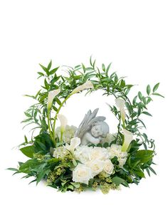 Dreaming with Angels Flower Arrangement