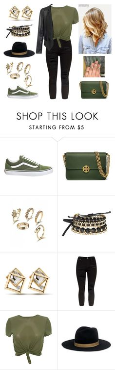 """""""Dear Karma,I have a list of people you missed."""" by paoladouka on Polyvore featuring Vans, Tory Burch, Avon and Janessa Leone"""