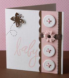 idea for a baby card