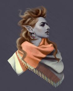 """sload: """"You'll Never Believe Her Secret! An Old Dunmeri Trick for Giving Some Body and Lift to Your Hair (it's wind and ash) """" Elves Fantasy, Fantasy Races, High Fantasy, Fantasy Rpg, Fantasy Character Design, Character Concept, Character Inspiration, Character Art, Concept Art"""