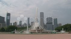 Water fountain chicago - Stock Footage | by TravelTelly