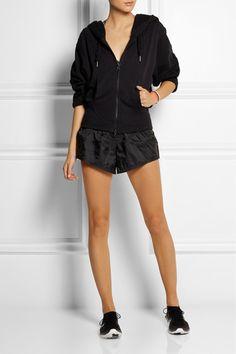 #Adidas by #StellaMcCartneyEssentials cotton-blend jersey hooded top #NETASPORTER