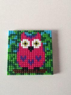 Leuk uiltje (Mini pixel basisplaat)