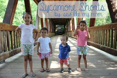 FREE Sycamore Shorts pattern and tutorial