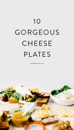 You can recreate these gorgeous cheese plates at home.