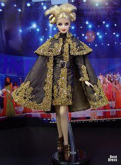 Miss Dagestan ( Alexander McQueen dress )