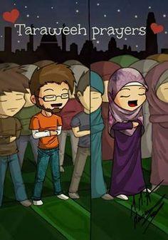 we pray taraweeh Ramadan Activities, Islamic Cartoon, Cute Muslim Couples, Islam For Kids, Anime Muslim, Cartoon Sketches, Cartoon Art, Love In Islam, Islam Religion