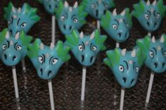 Dragon Cake Pops Viking Party, Medieval Party, Animal Themed Birthday Party, Birthday Party Themes, Dragon Party, Dragon Egg, Cookie Pops, Little Dragon, Cute Cakes