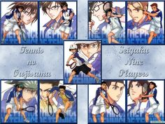Аниме обои The Prince of Tennis: The National Tournament / Принц тенниса OVA-1 38860