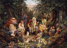 Once Upon A Time by James Christensen - first saw his work in a gallery when I was 16 and I still love it!!!