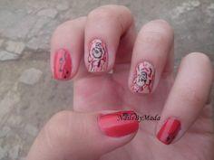 Skull Nails, My Nails, Beauty, Beleza