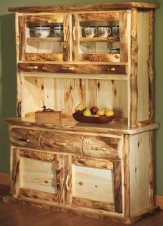 Mountain Woods Aspen 5' Buffet with Hutchtop : Cabela's