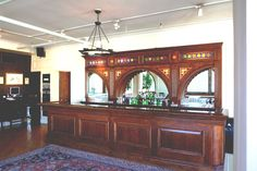 Our custom-designed bar is set up to keep the drinks flowing all night!
