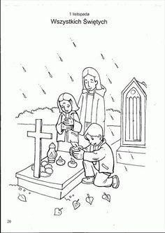 Użyj STRZAŁEK na KLAWIATURZE do przełączania zdjeć Creation Preschool Craft, Preschool Crafts, Kindergarten, Bible Coloring Pages, All Saints, Halloween, Sunday School, Communion, Learning Environments