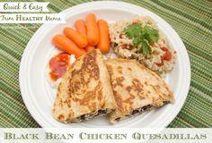 Trim Healthy Mama Black Bean Quesadillas (E)