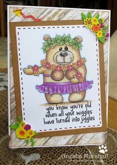 Beccy's Place Digital Image, Bear, Places, Frame, Cards, Home Decor, Picture Frame, Decoration Home, Room Decor