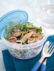 LighterLife: Smoked mackerel salad