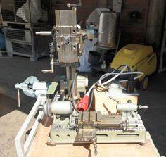 Hommel UWG 1 Mini Drehmaschine Drehbank Tischdrehmaschine + Zubehör