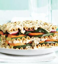 Spinach Lasagna Bianca