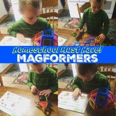 Magformers are a Homeschool MUST HAVE! sponsored by @educents