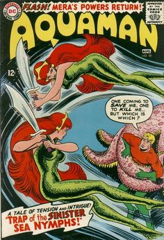 Comic Vixen is looking for Aquaman DC Comics 1965 Nick Cardy Art VG/FN with FyndIt. Find more Comics & Memorabilia:Comic Books:Silver Age Comic Book Pages, Dc Comic Books, Vintage Comic Books, Comic Book Artists, Vintage Comics, Comic Book Covers, Comic Book Characters, Comic Book Heroes, Comic Character