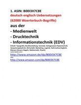 eBook Knaller 2014: Woerterbuch Medien Druck EDV + dictionary Business English + Social Media Glossar + Botanische Pflanzen-Namen