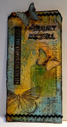 Tag Time ~ Beeswax -- Marjie Kemper