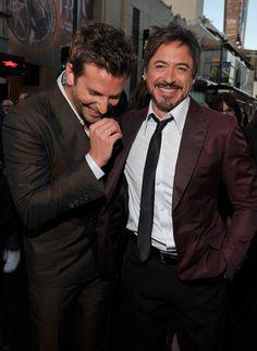 Bradley Cooper & Robert Downey Jr- No explanation needed