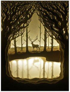 Paper + Book + Art | 紙 + 著作 + アート | книга + бумага + статья | Papier + Livre + Créations Artistiques | Carta + Libro + Arte |  Paper deer