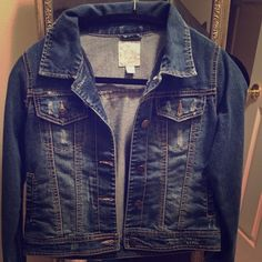 Jean jacket Very nice jean jacket from children's place. Size 14-16 Children place Jackets & Coats Jean Jackets