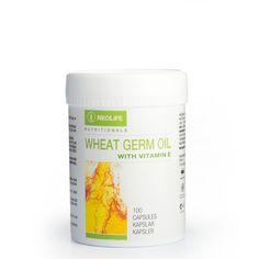 Wheat Germ Oil with Vitamin E, E-vitamiiniravintolisä Wheat Germ, Vitamin E, Oil, How To Make, Butter