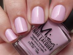 NAIL POLISH :: Misa Pinky Promise (Precious Moments Spring Collection 2012)