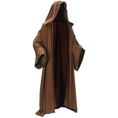 Put on your Obi-Wan Kenobi! Heavyweight wool cloak inspired by Star Wars. Everyone will know they're in the presence of the Force! It's time to put on your Obi-Wan! Although you could use this extraor. Costume Jedi, Costume Star Wars, Jedi Cosplay, Knight Costume, Magician Costume, Star Wars Jedi, Star Wars Stormtrooper, Robe Jedi, Jedi Cloak