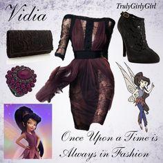 """""""Disney Style: Vidia"""" by trulygirlygirl on Polyvore. Me encanta la inspiración en Vidia! :)"""