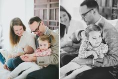 Lifestyle newborn family photography: Heather Essian